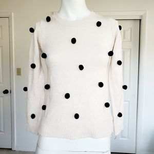 Pink Republic Sweater with pompoms M